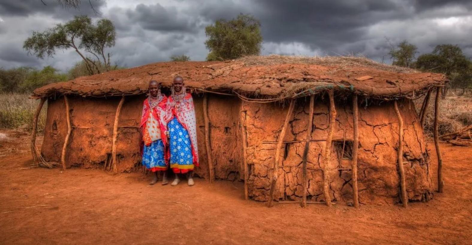 просторном фото домов людей живущих в дикой природе тех